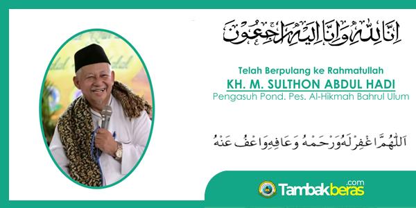 Mengenang Sosok Kiai Sulthon Abdul Hadi