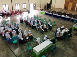 Giat Vaksinasi Menuju Santri Sehat Indonesia Kuat